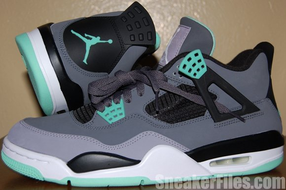 Green Glow Air Jordan 4 2013 Retro Video Review