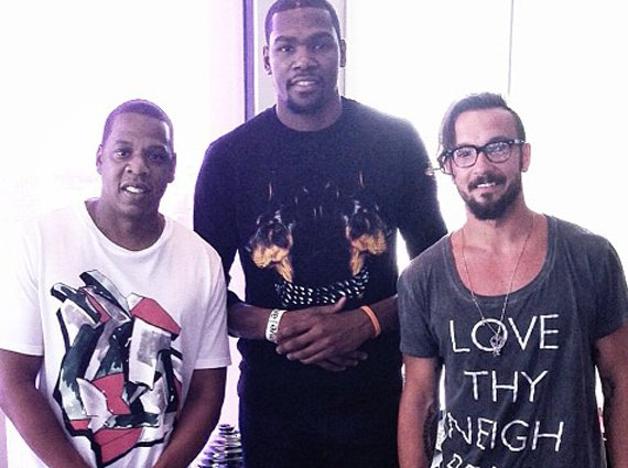 Kevin Durant Joins Roc Nation Sports