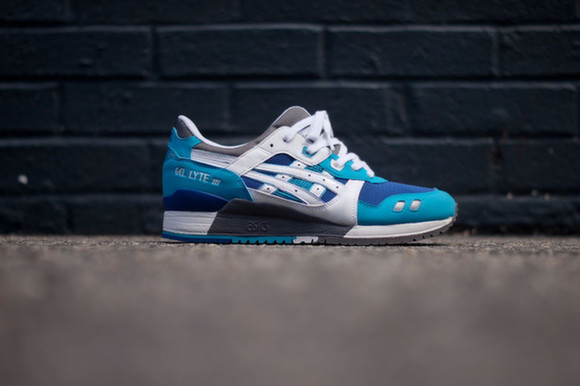 Kithstrike Asics Gel Lyte III White Blue Available Now