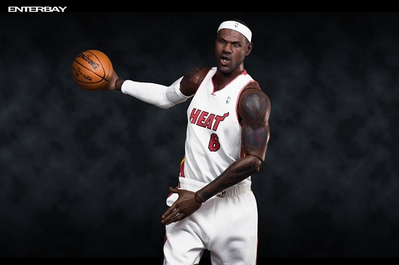 LeBron James Enterbay Figurine Available For Preorder