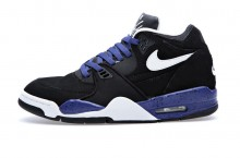 Nike Air Flight '89 'Black/White-Blue Speckle'