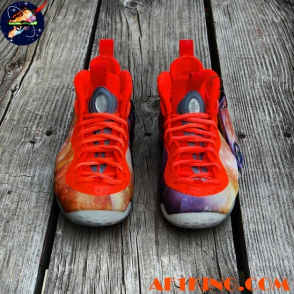 Nike Air Foamposite One Big Bang Alike Custom by Chef of GourmetKickz