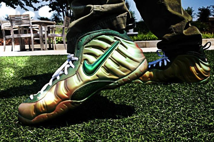 Nike Air Foamposite Pro 'Chameleon' Custom   SneakerFiles