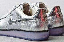"Nike Air Force 1 Downtown ""Silver"" – First Look"