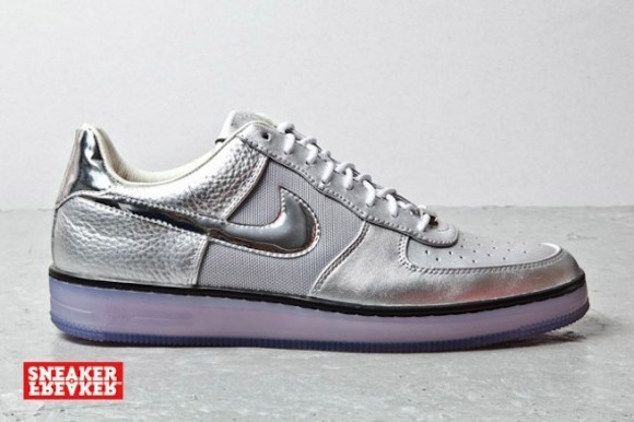 nike air force 1 downtown silver4