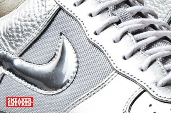nike airforce1 downtown silver6