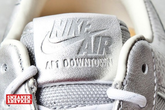 nike airforce1 downtown silver7