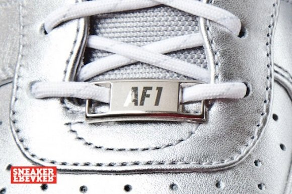 nike airforce1 downtown silver8