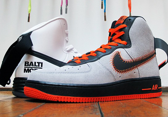 Nike Air Force 1 High Baltimore Pack Release Date