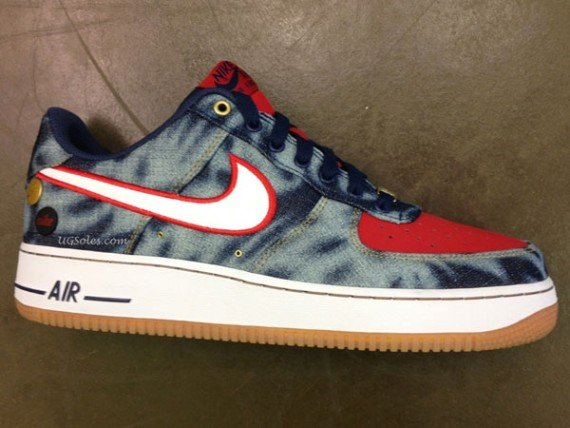 Nike Air Force 1 Low Washed Denim Sample