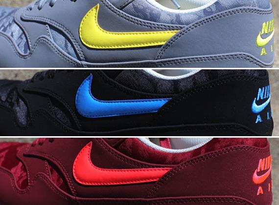 super popular 0099b a196d Nike Air Max 1 PRM Jacquard Pack