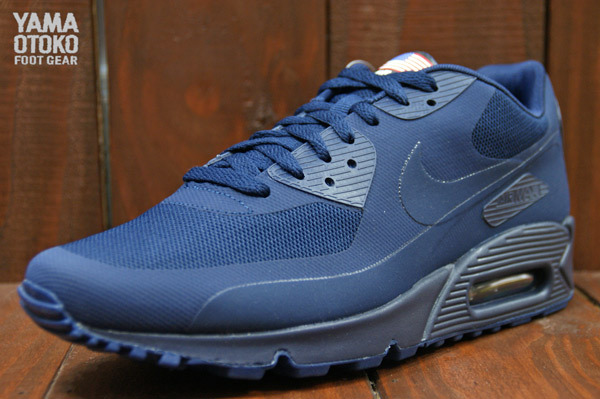 Navy Blue Air Max 90 Hyperfuse  f47ef0df8f26