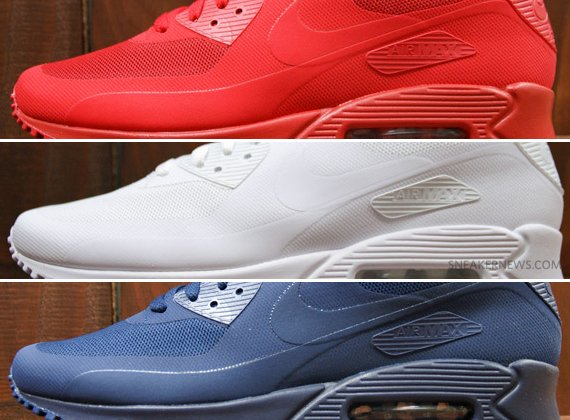 e29f048e25d Nike Air Max 90 Hyperfuse QS Independence Day Pack new ...