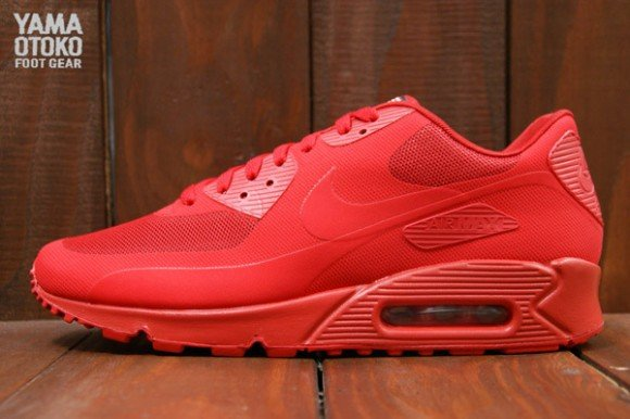 Nike Air Max 90 Hyperfuse Independence Day Red | SNEAKER ADDICT
