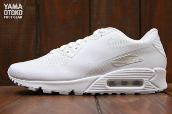 Nike Air Max 90 Hyperfuse Qs Blanco Blanco Paquete De Día De La Independencia vKUbul2