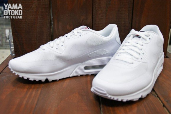 Nike Air Max 90 Qs Hyperfuse Pack Jour Blanc Blanc Indépendance 100%  original réduction Finishline nike