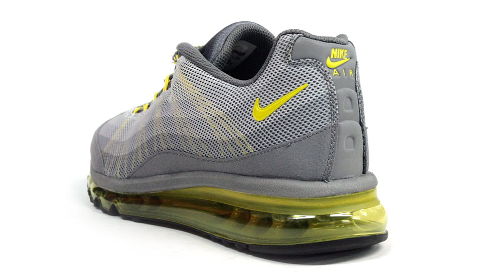 Nike Air Max 95 Dynamic Flywire Cool Gray Yellow