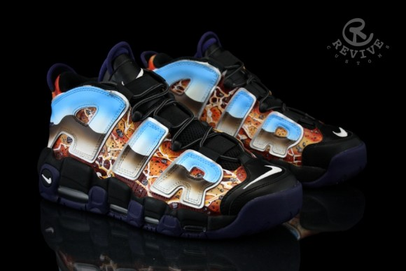 Nike Air More Uptempo Popular Myth and Destruction of Sodom by Revive Customs