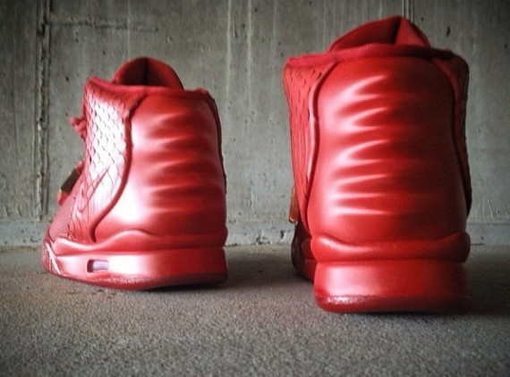 Nike Air Yeezy 2 Red October Customs by Mache
