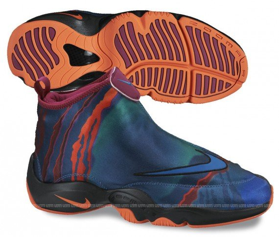 Nike Air Zoom Flight The Glove PRM Green Abyss Black Bright Magenta Orange