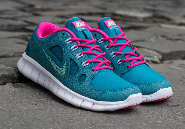 new arrivals 1211e 3be50 nike-free-5.0-gs-tropical-teal -arctic-green-