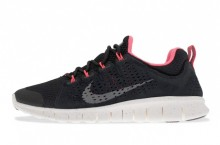 Nike Free Powerlines+ II 'Black/Dark Grey-Sail-Metallic Silver'