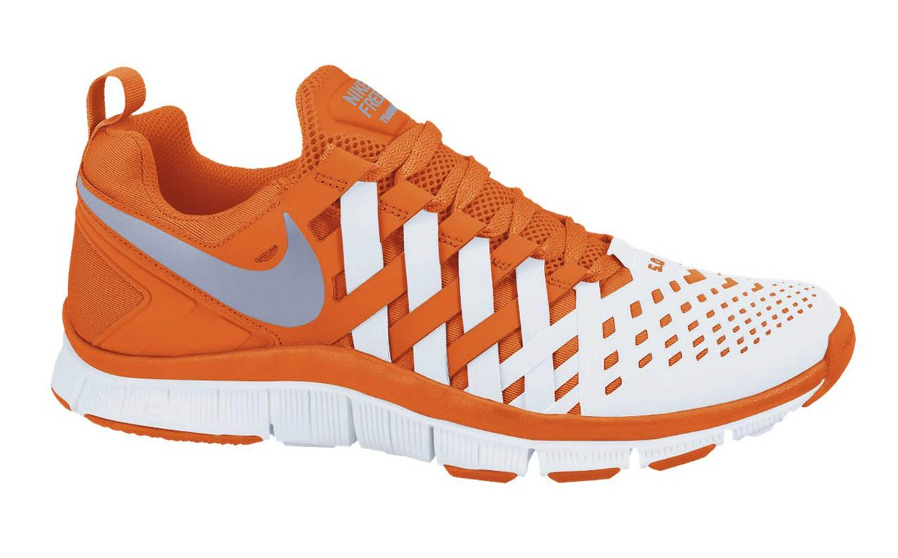 nike free trainer 5 0 39 safety orange white 39 now available sneakerfiles. Black Bedroom Furniture Sets. Home Design Ideas