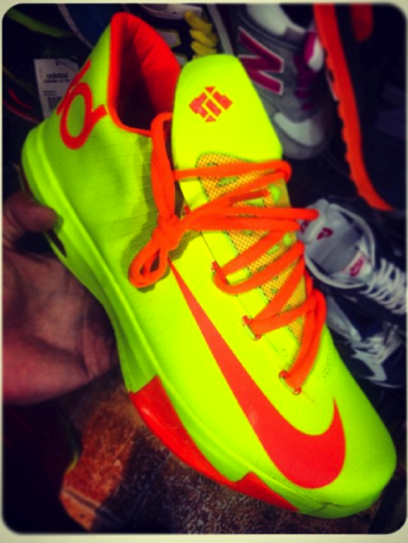 Nike KD 6 Yellow Orange