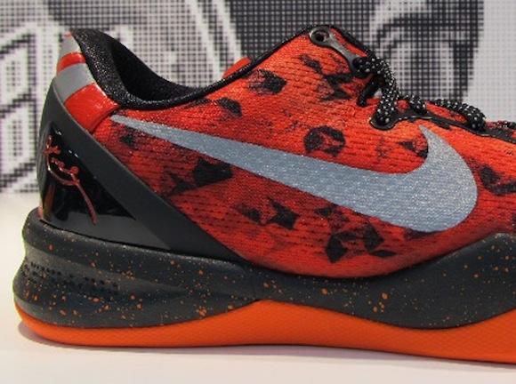 Nike Kobe 8 Challenge Red Sneakers (Challenge Red/Reflective Silver-Team Orange-Electro Orange)