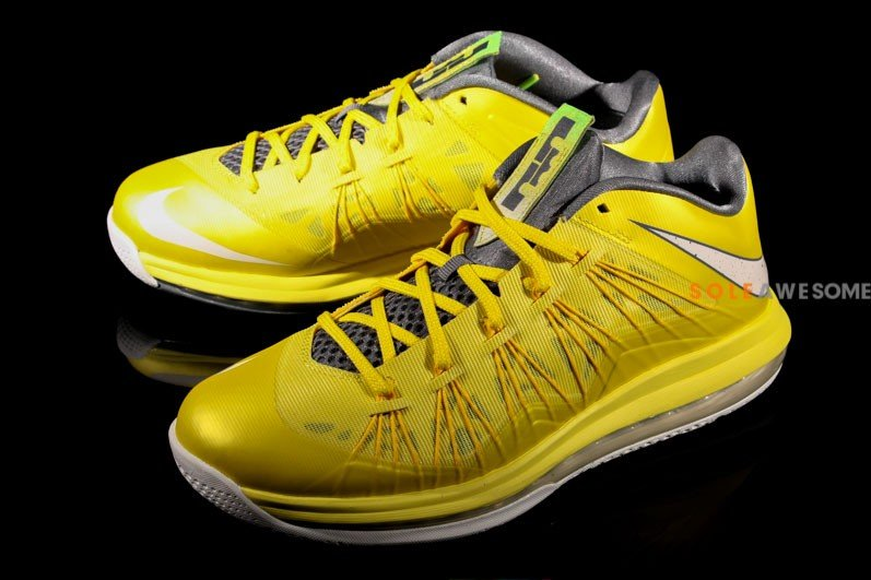 sports shoes 3d6ae c810f nike-lebron-x-10-low-sonic-yellow-sail-