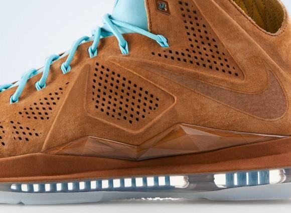 info for 2d4be 3dd68 Nike LeBron X EXT Hazelnut Release Update