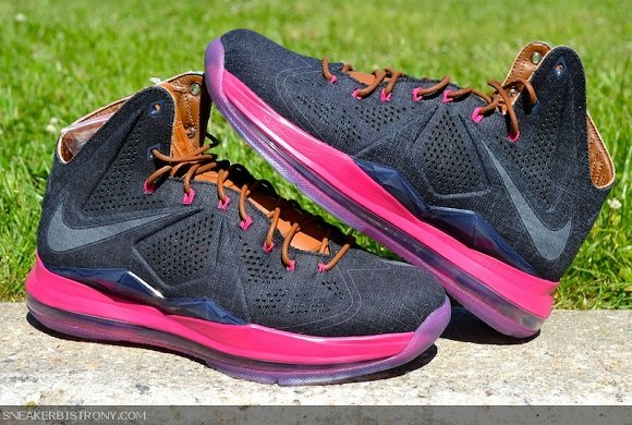 Nike LeBron X EXT QS Denim Another Look