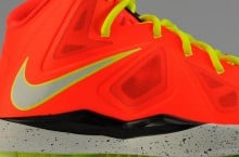 "Nike LeBron X (10) GS ""Total Crimson"""