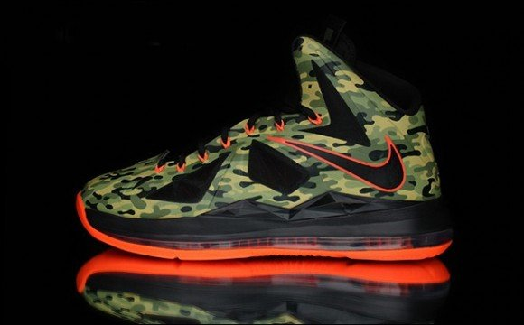 Nike LeBron X Hunter Custom for Kickin it on the Border by Dank Customs