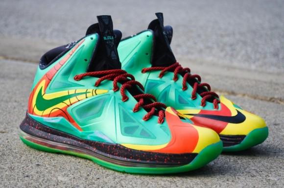 Nike LeBron X Weatherman Customs by DMC Kicks