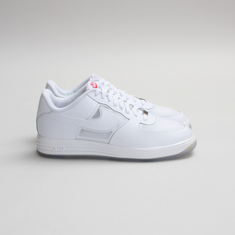 Nike Lunar Force 1 Fuse LTHR White White Available Now