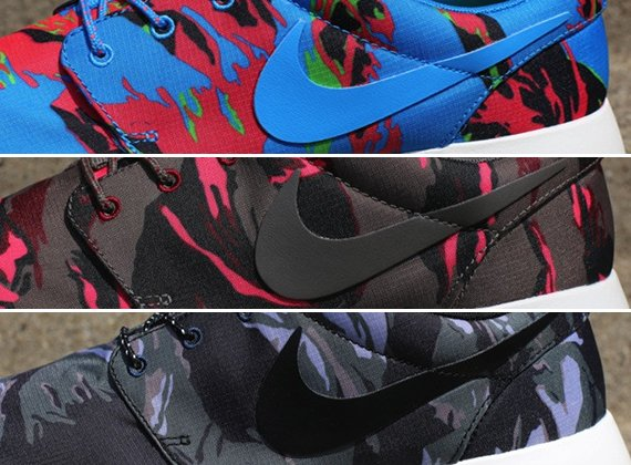 separation shoes 5fc9a 4d4d2 Nike Roshe Run GPX Camo Pack Now Available