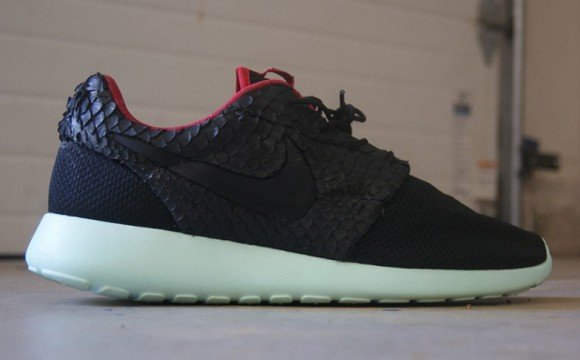 "9ba6a4daa4a8 Nike Roshe Run ""Yeezy 2"" Custom by AMAC Customs"