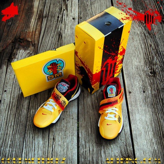 Nike Zoom KD IV Kill Bill Customs by Gourmet Kickz