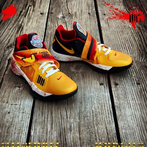 Nike Zoom KD IV Kill Bill Customs by Gourmet Kickz