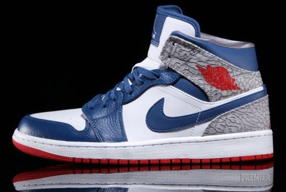 Now Available Air Jordan 1 Mid True Blue