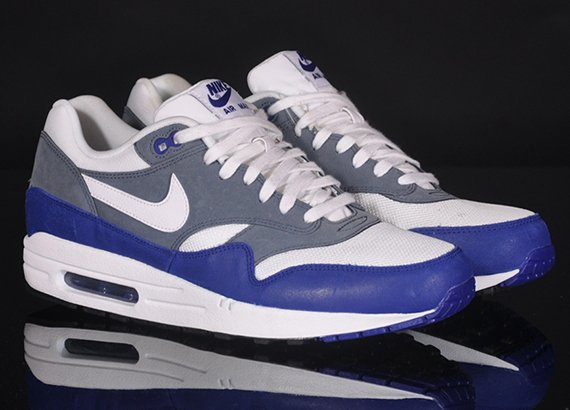 huge discount 005d9 4f15c Now Available  Nike Air Max 1 Deep Royal Blue