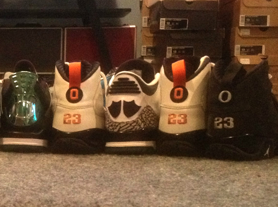 Oregon Air Jordan Retro PE Collection on eBay