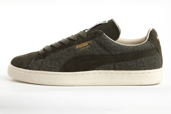 puma classic suede wool pack fall20132