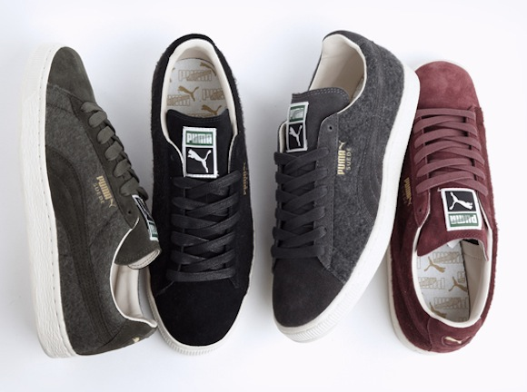 puma classic suede wool pack fall2013