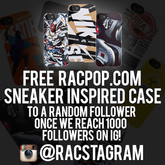 racpop cases restock and giveaway