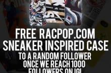 racPOP Cases – Restock and Give Away
