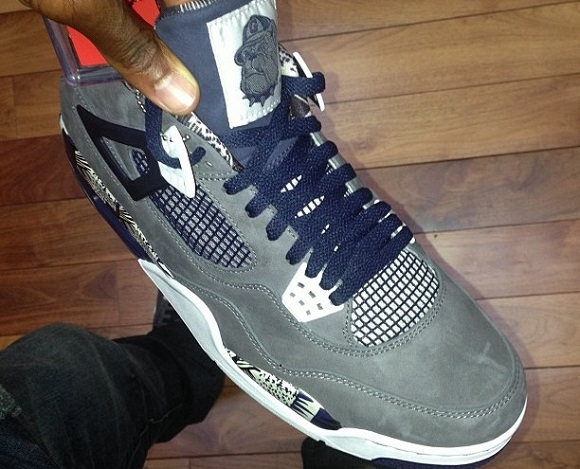 Rare Heat Chris Paul Previews Air Jordan IV 4 PE Georgetown