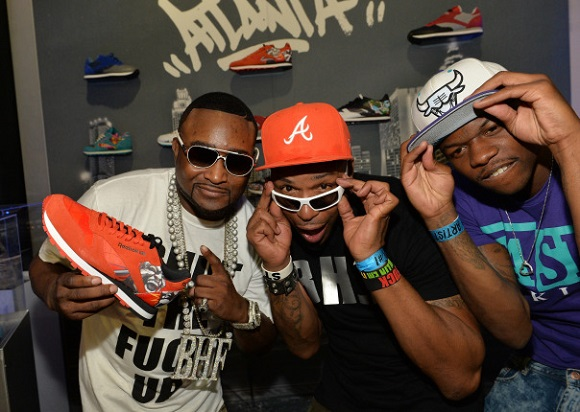 Reebok Classic Leather City Series On Display At Hot 1079 Birthday Bash