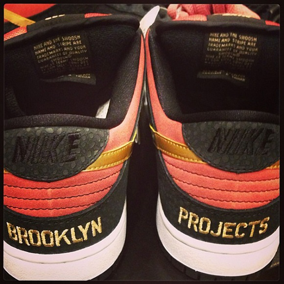 Release Date Brooklyn Projects x Nike SB Dunk Low Walk Of Fame